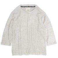 VOO(ヴォー) BEST PILE 3/4 (オフホワイト)(七分袖Tシャツ)(パイル)