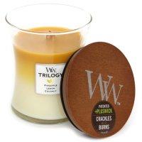 Wood Wick(ウッドウィック) TRILOGY (フルーツオブサマー)(音のするキャンドル)