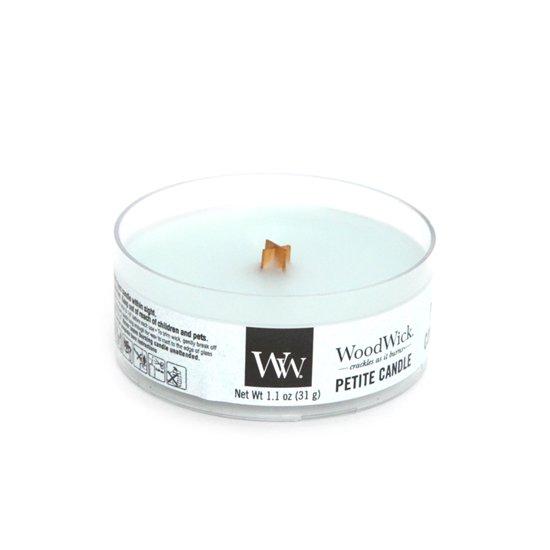 Wood Wick(ウッドウィック) PETITE CANDLE (ピュアコンフォート)(音のするキャンドル)