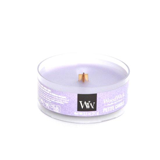 Wood Wick(ウッドウィック) PETITE CANDLE (ラベンダースパ)(音のするキャンドル)