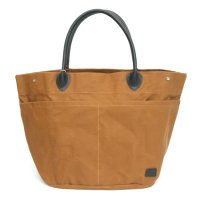 hobo(ホーボー) Paraffin Coated Cotton Canvas #9 Tote Bag L (キャメル)(トートバッグ)