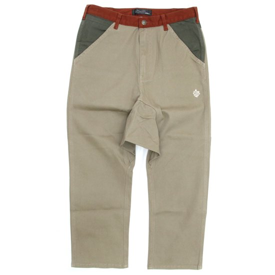 ALDIES(アールディーズ) Shaft Sarueru Pants (ベージュ)(サルエルパンツ)