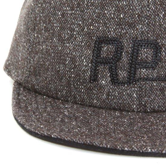 rulezpeeps(ルールズピープス) TWEED CAP (ブラウン)(キャップ)