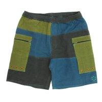 mash(マッシュ) Tsukinami Shorts (ブラウン ミックス)(ショートパンツ)