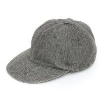 GO HEMP(ゴーヘンプ) MELTON DYE CAP (チャコール)(ウールキャップ)