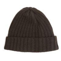 remilla(レミーラ) リブニット帽 (ダークブラウン)(ニット帽)
