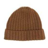 remilla(レミーラ) リブニット帽 (キャメル)(ニット帽)