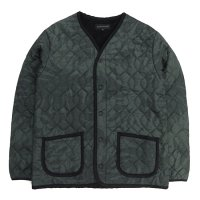 COOCHUCAMP(クーチューキャンプ) Happy Quilting Jacket (ブラック)(インナーダウン)