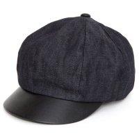 Nasngwam(ナスングワム) WAITS CAP 当店別注モデル (インディゴ)(キャスケット)