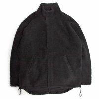 Phatee(ファティー) BIG NASTA JACKET (ブラック)(ボアジャケット)(ナスタジャケット)(ユニセックスフリーアイテム)