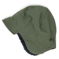 remilla(レミーラ) ボア帽 (オリーブグリン)(大人サイズ)(耳あて付きキャップ)