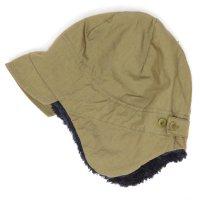 remilla(レミーラ) ボア帽 (サンド)(大人サイズ)(耳あて付きキャップ)