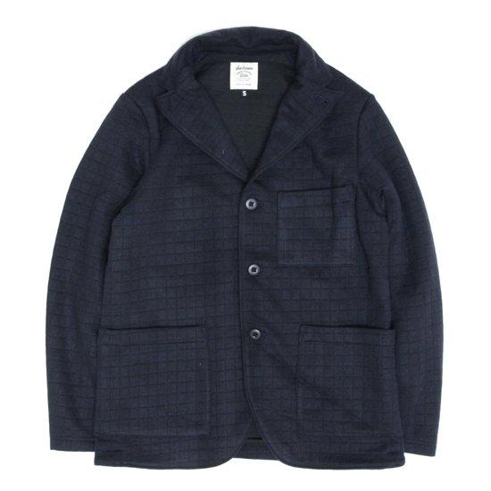 Jackman(ジャックマン) JM7710QT Quilt Jersey Jacket (ネイビー)(キルティングジャケット)