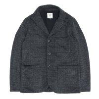 Jackman(ジャックマン) JM7710QT Quilt Jersey Jacket (チャコール)(キルティングジャケット)