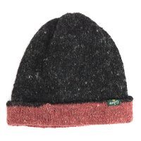 GO HEMP(ゴーヘンプ) REVERSI CAP (ブラック)(リバーシブルニット帽)