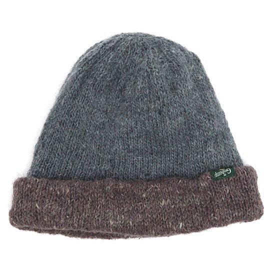 GO HEMP(ゴーヘンプ) REVERSI CAP (ブルー)(リバーシブルニット帽)