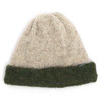 GO HEMP(ゴーヘンプ) REVERSI CAP (アイボリー)(リバーシブルニット帽)