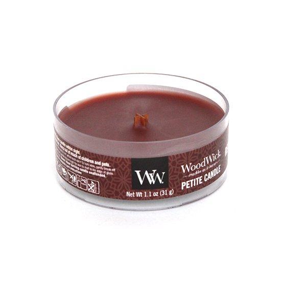 Wood Wick(ウッドウィック) PETITE CANDLE (レッドウッド)(当店限定の香り)(音のするキャンドル)