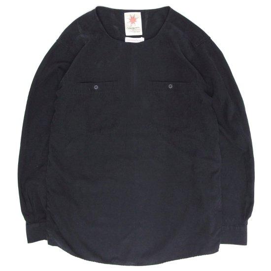 Nasngwam(ナスングワム) DEPP SMOG (ブラック)(C)(リメイクシャツ)