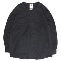 Nasngwam(ナスングワム) DEPP SMOG (ブラック)(B)(リメイクシャツ)