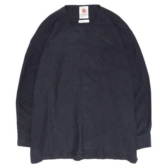 Nasngwam(ナスングワム) DEPP SMOG (ブラック)(A)(リメイクシャツ)