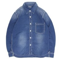 GO WEST(ゴーウェスト) OLD BLUE CHAMBRAY WORKERS SHIRTS (ユーズドウォッシュ)(ワーカーズシャツ)