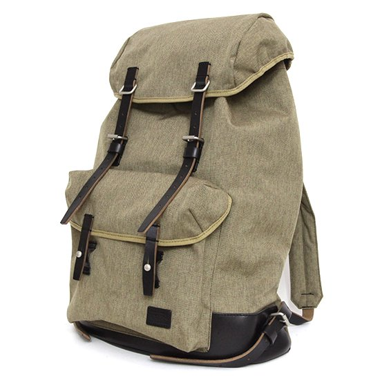 hobo(ホーボー) Nylon Polyester Canvas Backpack 29L with HORWEEN (ブラック)(バックパック)