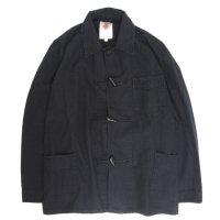Nasngwam(ナスングワム) SHAKE JACKET (ブラック)(リメイクジャケット)(シェイクジャケット)