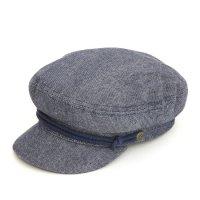 BRIXTON(ブリクストン) FIDDLER CAP (デニム)(キャスケット)(フィドラーキャップ)(フィッシャーマンキャップ)