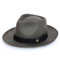 BRIXTON(ブリクストン) PRESLEY HAT (ブラック)(ペーパーハット)(プレスリーハット)