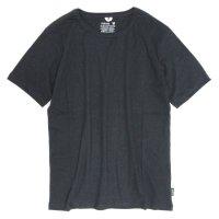 GO HEMP(ゴーヘンプ) BASIC S/SL TEE (ガンメタルグレイ)(ベーシック ショートスリーブ TEE)(Tシャツ)