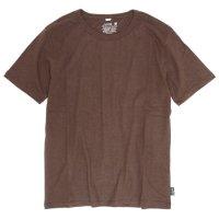 GO HEMP(ゴーヘンプ) BASIC S/SL TEE (コーヒーブラウン)(ベーシック ショートスリーブ TEE)(Tシャツ)