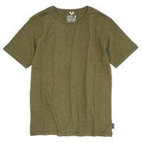 GO HEMP(ゴーヘンプ) BASIC S/SL TEE (オリーブグリーン)(ベーシック ショートスリーブ TEE)(Tシャツ)
