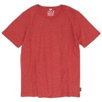GO HEMP(ゴーヘンプ) BASIC S/SL TEE (ポピーレッド)(ベーシック ショートスリーブ TEE)(Tシャツ)