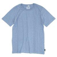 GO HEMP(ゴーヘンプ) BASIC S/SL TEE (スカイブルー)(ベーシック ショートスリーブ TEE)(Tシャツ)