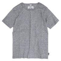 GO HEMP(ゴーヘンプ) BASIC S/SL TEE (ブラックヘザー)(ベーシック ショートスリーブ TEE)(Tシャツ)