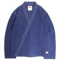 Nasngwam(ナスングワム) GARNET SHIRT (インディゴ)(プルオーバー)(ガーネットシャツ)