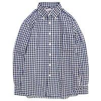 SPINNER BAIT(スピナーベイト) ギンガムチェック エイタL/Sシャツ (ギンガムネイビー)(長袖シャツ)