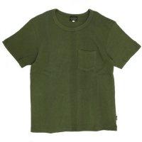 GO HEMP(ゴーヘンプ) SUN GLOW PK TEE H/C THERMAL (セージグリーン)(Tシャツ)(サーマル)
