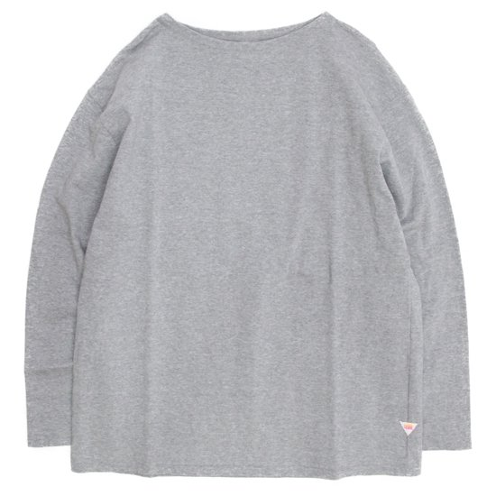 melple(メイプル) バスク 9分袖 (グレイ)(バスクシャツ)