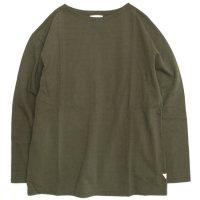 melple(メイプル) バスク9分袖 (オリーブ)(バスクシャツ)