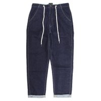 GO HEMP(ゴーヘンプ) REVE別注 HARVESTER PANTS STRETCH DENIM (ワンウォッシュ)(ハーベスターパンツ)