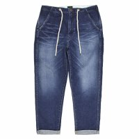 GO HEMP(ゴーヘンプ) REVE別注 HARVESTER PANTS STRETCH DENIM (ユーズドウォッシュ)(ハーベスターパンツ)