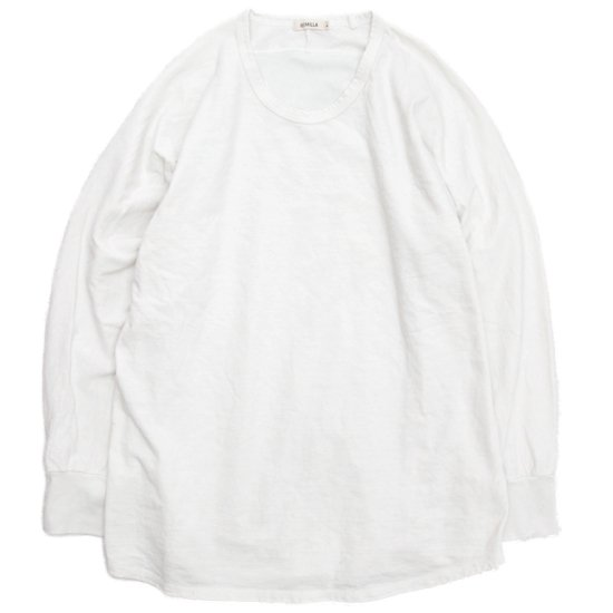 remilla(レミーラ) ドルマンパネルTEE (アンダーホワイト)(九分袖TEE)