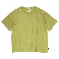 GO HEMP(ゴーヘンプ) WIDE S/SL TEE (ピスタチオ)(ワイド ショートスリーブ TEE)(Tシャツ)