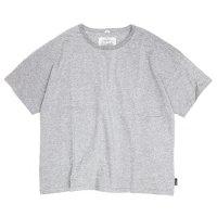 GO HEMP(ゴーヘンプ) WIDE S/SL TEE (トップグレイ)(ワイド ショートスリーブ TEE)(Tシャツ)