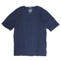 GO HEMP(ゴーヘンプ) MUSA TEE (マリンネイビー)(ムサTEE)(Tシャツ)