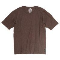 GO HEMP(ゴーヘンプ) MUSA TEE (コーヒーブラウン)(ムサTEE)(Tシャツ)