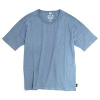 GO HEMP(ゴーヘンプ) MUSA TEE (スカイブルー)(ムサTEE)(Tシャツ)