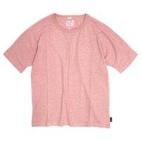 GO HEMP(ゴーヘンプ) MUSA TEE (パウダーピンク)(ムサTEE)(Tシャツ)